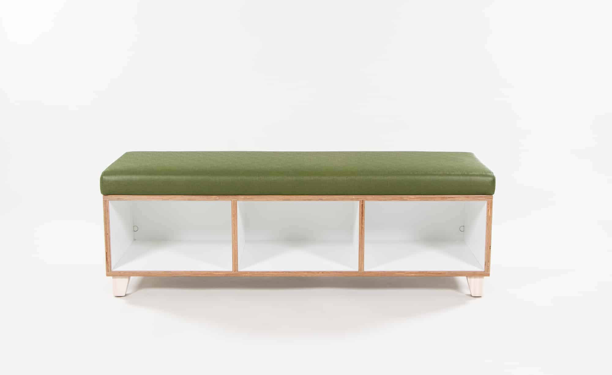 Picture of: Upholstered Bench Seat With Storage 1200l Starex